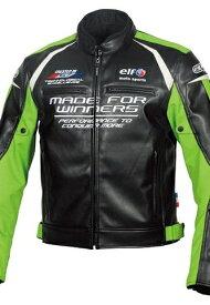 elf エルフ アパレル EL-9243 Evoluzione PU Leather Jacket [エヴォルツィオーネPUレザージャケット] サイズ:L