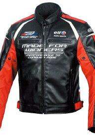 【在庫あり】elf エルフ アパレル EL-9243 Evoluzione PU Leather Jacket [エヴォルツィオーネPUレザージャケット] サイズ:LW