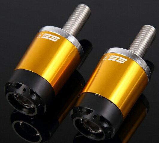 SSK エスエスケー ヘビーウェイトハンドルバーエンドスライダー ロングタイプ カラー:ゴールド F800R 15-17 HP4 12-14 S1000R 14-17 S1000RR 09-17