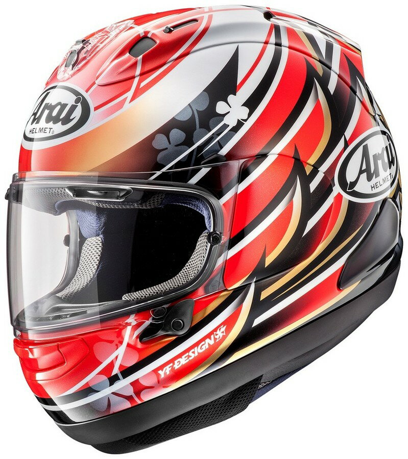 【在庫あり】Arai アライ フルフェイスヘルメット RX-7X NAKAGAMI [アールエックス セブンエックス ナカガミ] ヘルメット サイズ:XL(61-62cm)