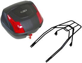 World Walk ワールドウォーク エストレヤ用 リアキャリア リアボックスセット タイプ:ツーカラーズレンズリアボックス(32L) エストレヤ
