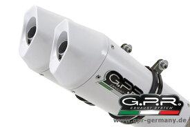 ジーピーアール GPR ALBUS CERAMIC 【アルバス セラミック】 (YAMAHA MT-03 2006-13 SLIP ON DOUBLE MUFFLER EXHAUST WITH KAT) スリップオンマフラー MT-03