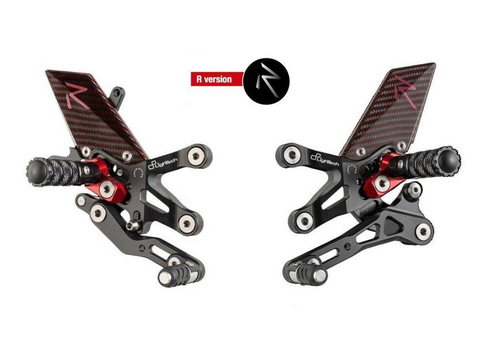 LighTech ライテック バックステップ ステップキットシリーズ タイプ:R Version S1000R 17 S1000RR 15-17