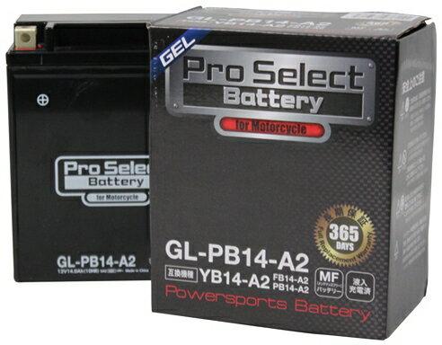 【在庫あり】プロセレクトバッテリー Pro Select Battery オートバイ用バッテリー