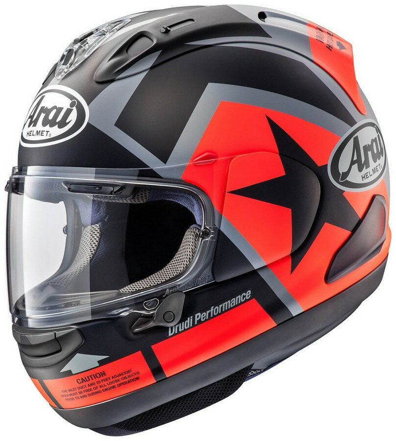 Arai アライ フルフェイスヘルメット RX-7X MAVERICK [アールエックス セブンエックス マーベリック] ヘルメット サイズ:M(57-58cm)