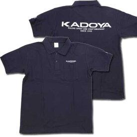カドヤ カジュアルウェア KADOYA ポロシャツ サイズ:M