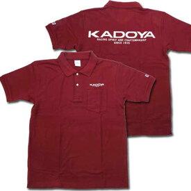 カドヤ カジュアルウェア KADOYA ポロシャツ サイズ:LL