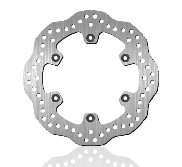 BikeMaster バイクマスター ディスクローター Brake Rotors for Offroad [962155] KL650 Tengai 90-91 KLR650 90-07 KLR650 Tengai 89-92