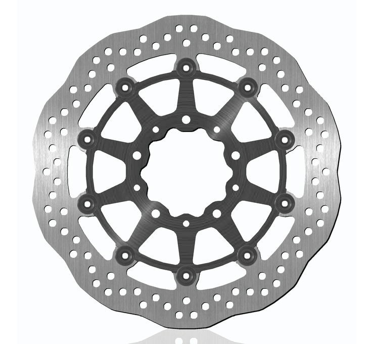 BikeMaster バイクマスター ディスクローター Brake Rotors for Offroad [962165] KLR650 Tengai 89-92 KLX650 93-97