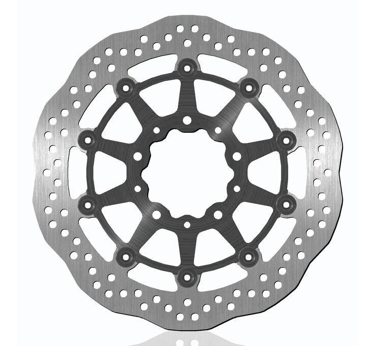 BikeMaster バイクマスター ディスクローター Brake Rotors for Offroad [962165] KLR650 Tengai 89-92 KLX650 93-97