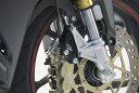 OVER オーヴァー フロントキャリパーサポート ブレンボ4P カラー:ブラックアルマイト仕上げ CBR250RR