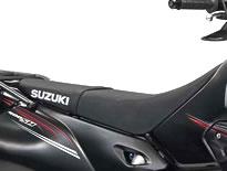 SUZUKI スズキ シート本体 ハイシート K5:YU1 ブラック/イエロー DR-Z400S(K5-K9モデル) DR-Z400SK5/SK6/SK7/SK8/SK9