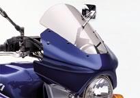 SUZUKI スズキ アッパーカウル ハーフカウル K1:YM6 ギャラクシーシルバーメタリック GSX1400シリーズ(K1-K6モデル) GSX1400K1/K2/K3/K4/K5/ZK5/K6