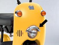 SUZUKI スズキ ピリオンライダーハンドルカバー カラー:YD8 ソニックシルバーメタリック スカイウェイブ250タイプS(K7-K8モデル) AN250SK7/AN250SK8