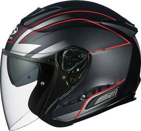【在庫あり】OGK KABUTO オージーケーカブト ジェットヘルメット ASAGI BEAM [アサギ ビーム フラットブラック] ヘルメット サイズ:L