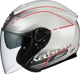 【在庫あり】OGK KABUTO オージーケーカブト ジェットヘルメット ASAGI BEAM [アサギ ビーム パールホワイト] ヘルメット サイズ:XL