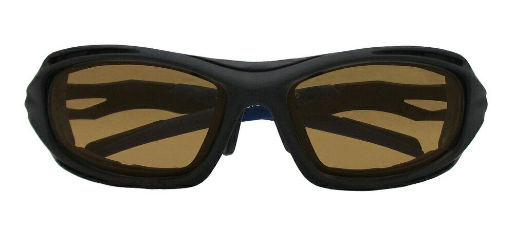 RIDEZ ライズ TRANSCOPE 調光 サングラス カラー:マットブラック/ブラウン調光