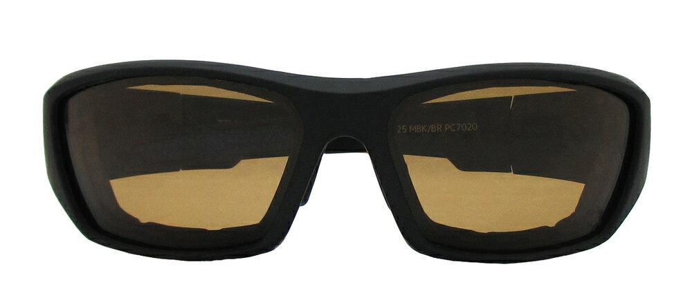 RIDEZ ライズ TRANSWASH 調光 サングラス カラー:マットブラック/ブラウン調光