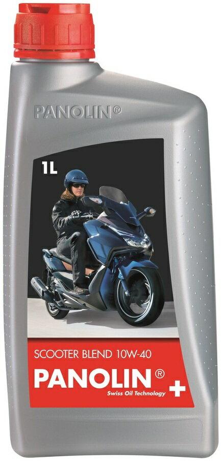 【在庫あり】PANOLIN パノリン BLEND スクーター 【10W-40】【4サイクルオイル】 容量:1L