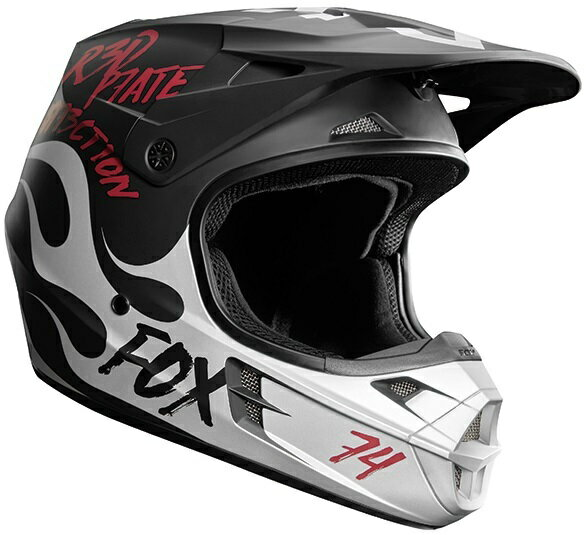 FOX フォックス オフロードヘルメット V1ヘルメット RODKA [ロッドカ] スペシャルエディション サイズ:XL(61-62cm)
