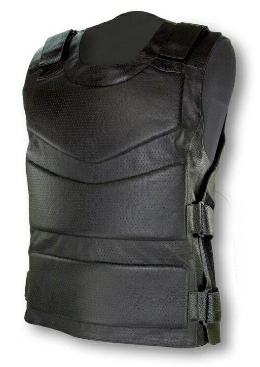 RIDEZ ライズ ARMED LEATHER VEST [アームドレザーベスト] サイズ:M-L(86-112cm)