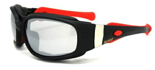 RIDEZ ライズ サングラス PROTECTION EYEWEAR [プロテクションアイウェア] フレーム:マットブラック/レンズ:スモーク(可視透過率:60%)
