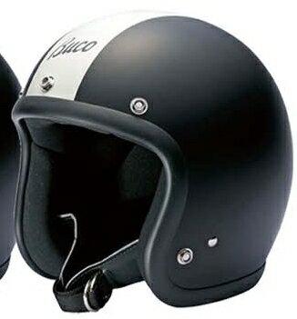BUCO ジェットヘルメット エクストラブコ センターストライプ&ロゴ REGULAR LINE MAT SERIES [レギュラー ライン マットシリーズ] サイズ:XL(61-62cm)