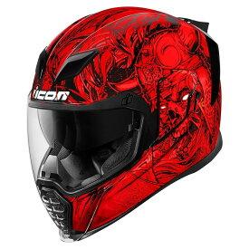 ICON アイコン フルフェイスヘルメット AIRFLITE KROM HELMET[エアフライト クロム ヘルメット] サイズ:L(59-60cm)