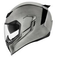 ICONアイコンフルフェイスヘルメットAIRFLITEQUICKSILVERHELMET[エアフライトクイックシルバーヘルメット]サイズ:M(57-58cm)
