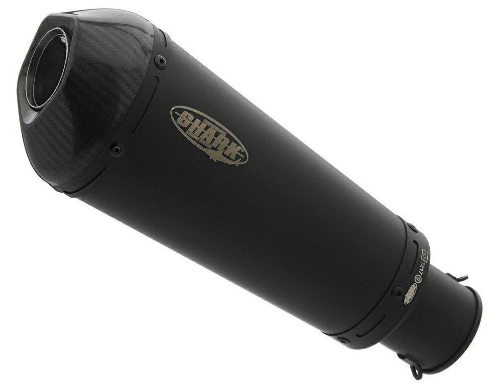SHARK シャーク DSX-7 スリップオンマフラー カラー:matt black/素材:coated stainless steel、carbon CB1000R (SC 80) 2018