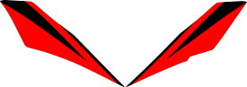 MDF エムディーエフ ステッカー・デカール グラフィックキット アンダーカバーパーツ カラー:レッド XMAX 2018-