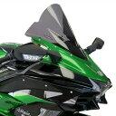 ODAX オダックス POWER BRONZE スポーツ・エアフロースクリーン カラー:ライトスモーク Ninja H2 SX (18-)