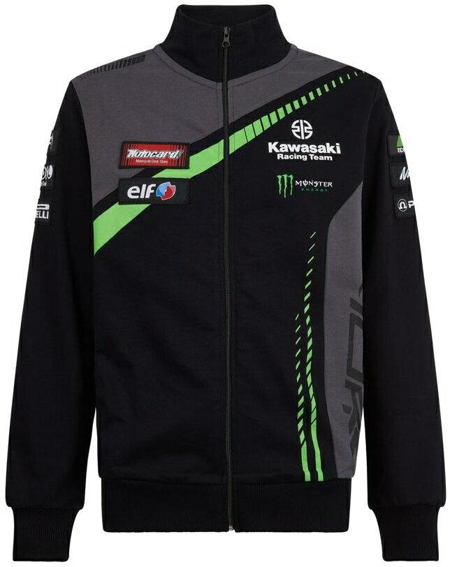 【在庫あり】KAWASAKI カジュアルウェア カワサキレーシングチーム ワールドスーパーバイク スウェットシャツ サイズ:S