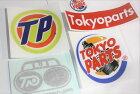 TOKYOPARTS東京パーツステッカー・デカールパロディステッカー