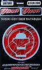 MOTOGRAFIXモトグラフィックスタンクキャップフューエルキャップキットカラー:レッドGSX1300RHAYABUSA(ハヤブサ)