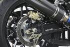 OVERオーヴァーリアキャリパーサポートブレンボ2P用カラー:ブラックアルマイトZ900RS