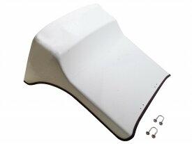 【在庫あり】Hunter ハンター その他シートパーツ ハイバックガードパネル 仕上げ:ホワイトゲルコート ジャイロキャノピー TA02 TA03 デッキタイプ全車