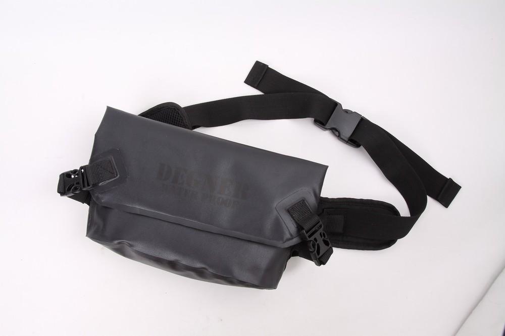 DEGNER デグナー ウエストポーチ・ヒップバッグ 防水ウエストバッグ カラー:ブラック