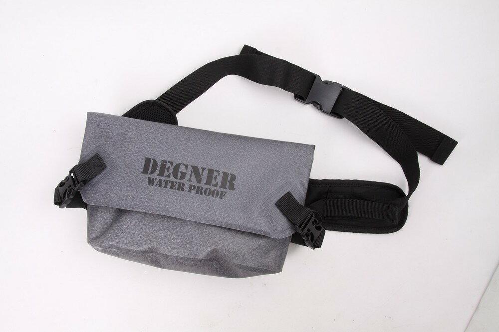 DEGNER デグナー ウエストポーチ・ヒップバッグ 防水ウエストバッグ カラー:グレー