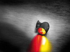 KELLERMANN ケラーマン Bullet Atto DF [バレット アトー DF] 世界最小 尾灯/制動灯機能付きウインカー 本体カラー:マットブラック ウインカー電圧 12v仕様車