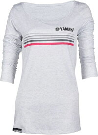 ポイント10倍! US YAMAHA 北米ヤマハ純正アクセサリー クラシックロングスリーブ スクープネックTシャツ レディース サイズ:XL