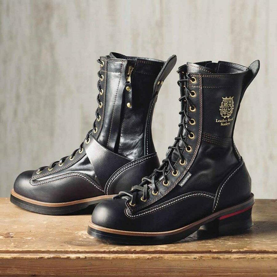 KADOYA カドヤ オンロードブーツ RIDE LOGGER(ライドロガー) ブーツ 【K'S LEATHER】 サイズ:27.5cm