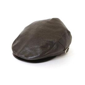KADOYA カドヤ 帽子 LEATHER HUNTING ハンチング 【K'S PRODUCT】 サイズ:M (57-59cm)