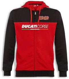 DUCATI Performance ドゥカティパフォーマンス カジュアルウェア D99 フード付き スウェットシャツ サイズ:XL