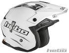HEBOエボオフロードヘルメットZONE4モノカラーヘルメットサイズ:XS(53-54)