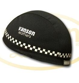 VANSON バンソン その他ヘルメット関連用品 ライディングインナーキャップ チェック