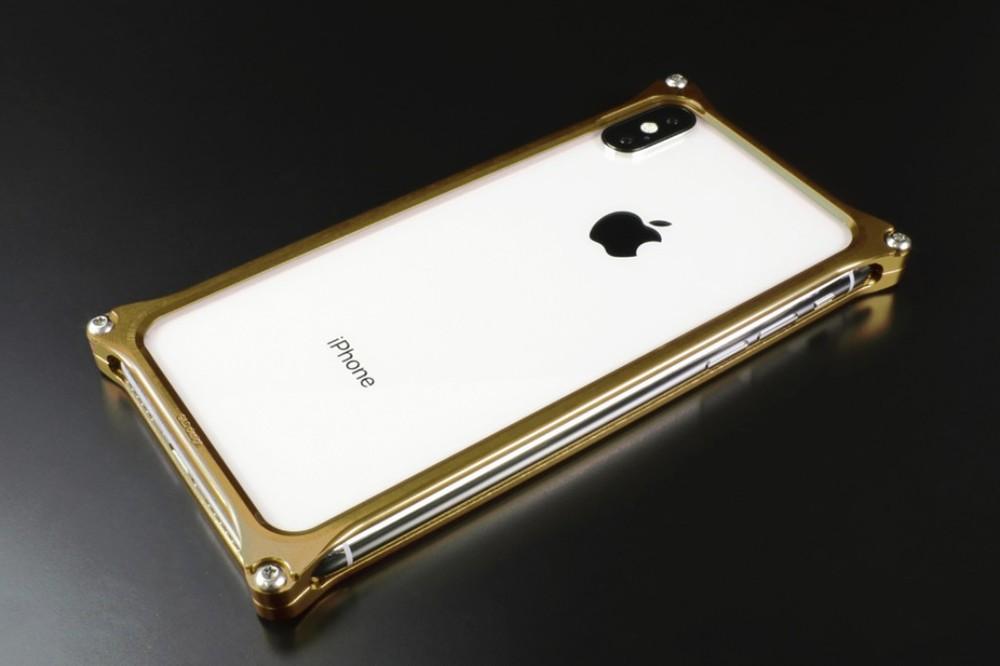 GILD design ギルドデザイン スマートフォンケース ソリッドバンパー for iPhoneX/XS