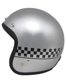 SPOON スプーン ジェットヘルメット チェック(CHECK)