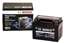 BOSCH ボッシュ RBT4B-5-N メンテナンスフリーバッテリー【Mega Power Ride/メガパワーライド】