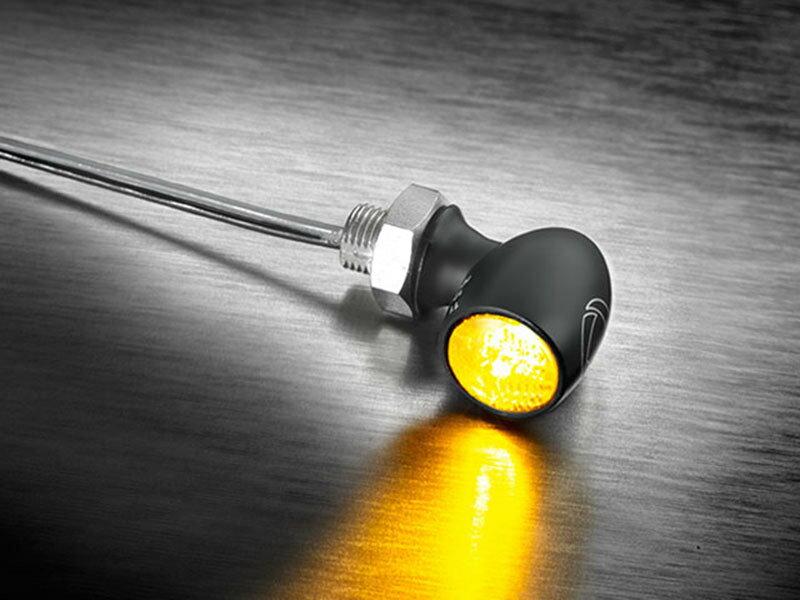 KELLERMANN ケラーマン Bullet Atto [バレット アトー] 世界最小 ウインカー 本体カラー:ブラック / レンズカラー:クリアー